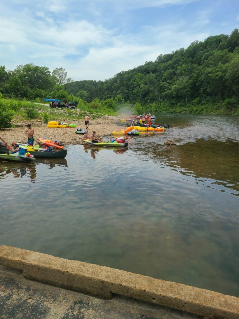 Floating the North Fork River